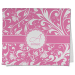 Floral Vine Kitchen Towel - Full Print (Personalized)
