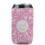 Floral Vine Can Sleeve (12 oz) (Personalized)