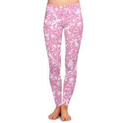 Floral Vine Ladies Leggings - Extra Large (Personalized)