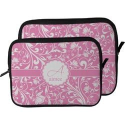 Floral Vine Laptop Sleeve / Case (Personalized)
