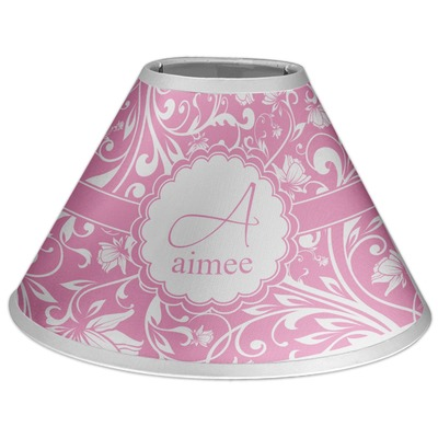 Floral Vine Coolie Lamp Shade (Personalized)