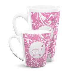 Floral Vine Latte Mug (Personalized)