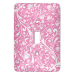 Floral Vine Light Switch Cover (Single Toggle) (Personalized)