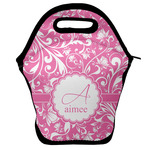 Floral Vine Lunch Bag w/ Name and Initial