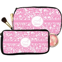 Floral Vine Makeup / Cosmetic Bag (Personalized)