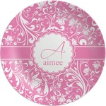 Floral Vine Melamine Plate (Personalized)