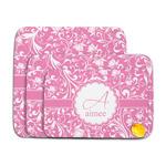 Floral Vine Memory Foam Bath Mat (Personalized)