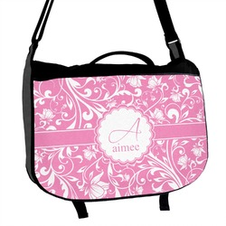 Floral Vine Messenger Bag (Personalized)