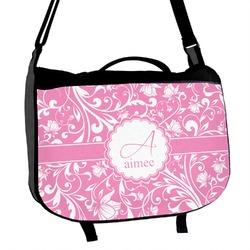 Floral Vine Messenger Bag (Personalized)