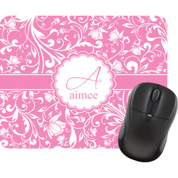 Floral Vine Mouse Pad (Personalized)