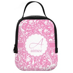 Floral Vine Neoprene Lunch Tote (Personalized)