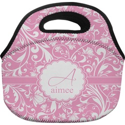 Floral Vine Lunch Bag (Personalized)