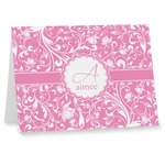 Floral Vine Note cards (Personalized)