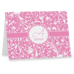 Floral Vine Notecards (Personalized)