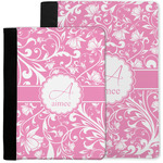 Floral Vine Notebook Padfolio w/ Name and Initial