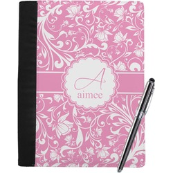 Floral Vine Notebook Padfolio (Personalized)