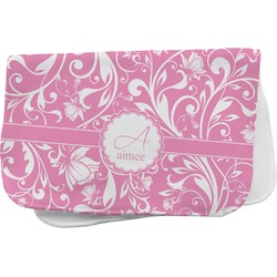 Floral Vine Burp Cloth (Personalized)