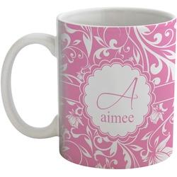 Floral Vine Coffee Mug (Personalized)
