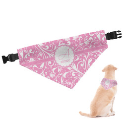Floral Vine Dog Bandana - Small (Personalized)