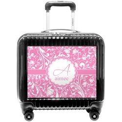 Floral Vine Pilot / Flight Suitcase (Personalized)