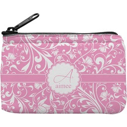 Floral Vine Rectangular Coin Purse (Personalized)