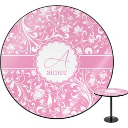 Floral Vine Round Table (Personalized)
