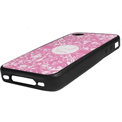 Floral Vine Rubber iPhone Case 4/4S (Personalized)