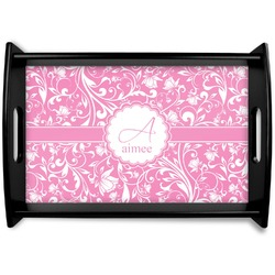 Floral Vine Wooden Trays (Personalized)