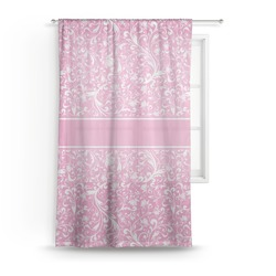 "Floral Vine Sheer Curtain - 50""x84"" (Personalized)"