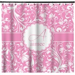 Floral Vine Shower Curtain (Personalized)