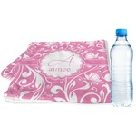 Floral Vine Sports & Fitness Towel (Personalized)