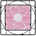 Floral Vine Square Trivet (Personalized)