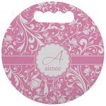 Floral Vine Stadium Cushion (Round) (Personalized)