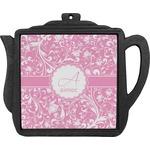Floral Vine Teapot Trivet (Personalized)