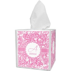 Floral Vine Tissue Box Cover (Personalized)