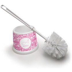 Floral Vine Toilet Brush (Personalized)