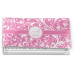 Floral Vine Vinyl Checkbook Cover (Personalized)