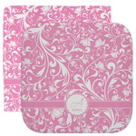 Floral Vine Facecloth / Wash Cloth (Personalized)