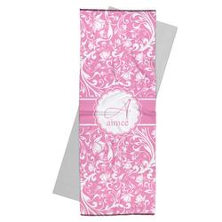 Floral Vine Yoga Mat Towel (Personalized)
