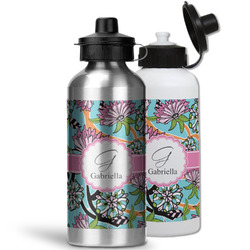 Summer Flowers Water Bottles- Aluminum (Personalized)
