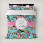 Summer Flowers Duvet Covers (Personalized)