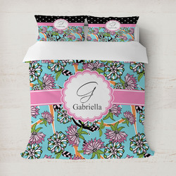 Summer Flowers Duvet Cover (Personalized)