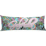 Summer Flowers Body Pillow Case (Personalized)