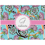 Summer Flowers Placemat (Fabric) (Personalized)
