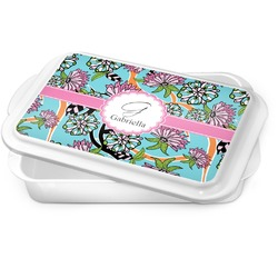 Summer Flowers Cake Pan (Personalized)