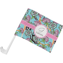 Summer Flowers Car Flag (Personalized)