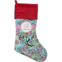 Summer Flowers Christmas Stocking (Personalized)