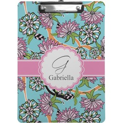 Summer Flowers Clipboard (Personalized)