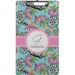 Summer Flowers Clipboard (Legal Size) (Personalized)
