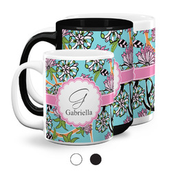 Summer Flowers Coffee Mugs (Personalized)